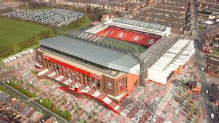How the redeveloped Anfield will look.
