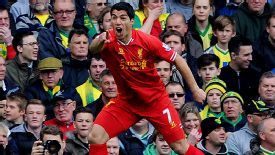 Luis Suarez has been voted the PFA Players' Player of the Year.