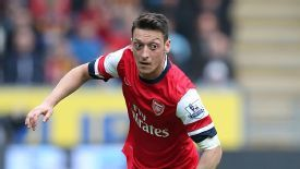 Mesut Ozil has now returned to action.