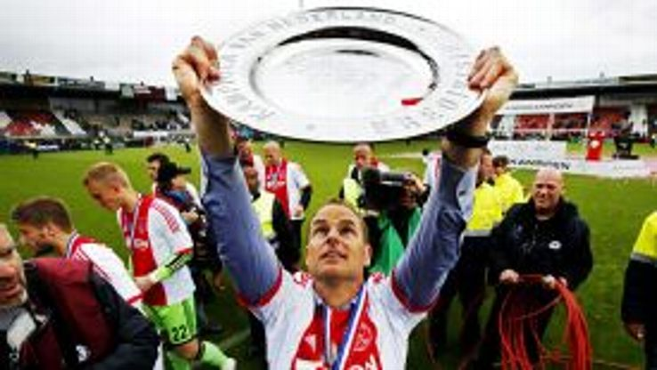 Frank de Boer has guided Ajax to a fourth consecutive Eredivisie title.