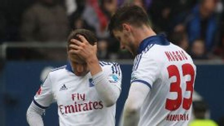 Hamburg suffered a third successive Bundesliga defeat at the weekend.