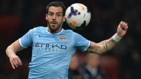 Alvaro Negredo action Manchester City