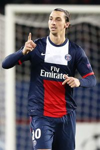 Zlatan Ibrahimovic has enjoyed an exceptional season with PSG.