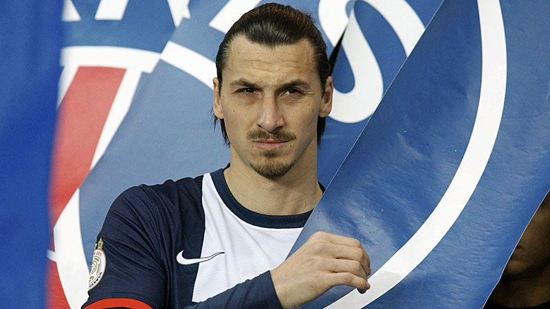 Zlatan Ibrahimovic has dismissed talk of a move away from PSG.