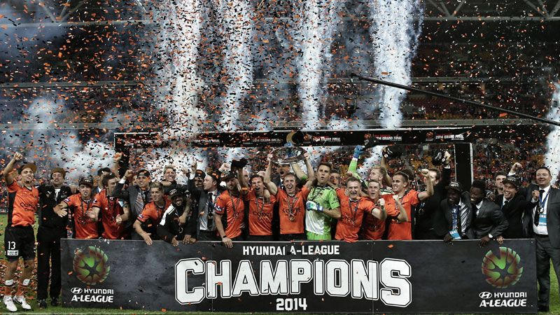 Brisbane Roar won the Grand Final to seal a third A-League title in four years.