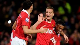 Nemanja Vidic, Rio Ferdinand and Patrice Evra have been the bedrock of Man Utd's defence for almost a decade.