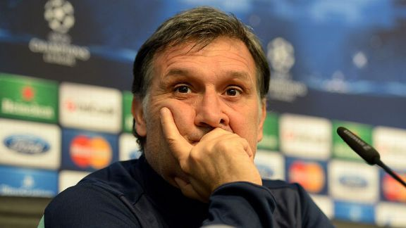 Tata Martino is under pressure at Barcelona following an underwhelming season.