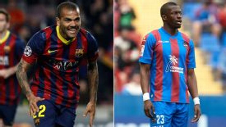 Dani Alves and Papakouli Diop have both been victims of racial abuse in recent weeks.