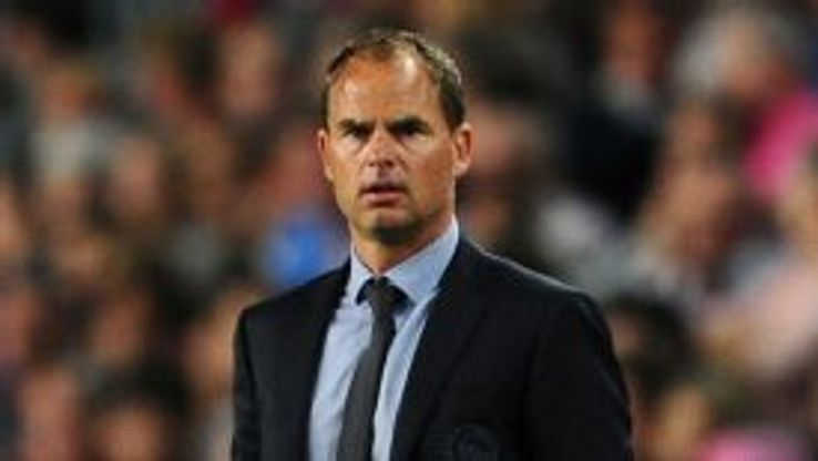 Frank de Boer has enjoyed great success so far at Ajax.