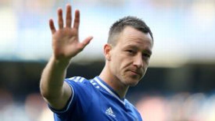 Waving Goodbye? John Terry is out of contract this summer and many of his teammates' futures are unclear too.