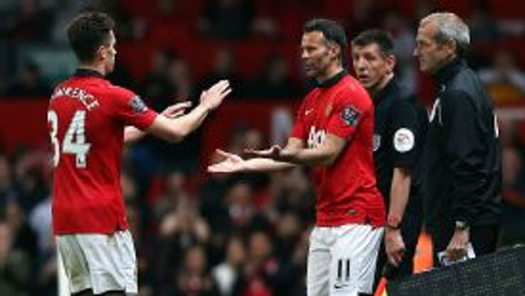 Ryan Giggs replaces Tom Lawrence for what might be his final appearance at Old Trafford.