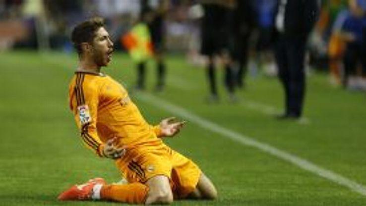 Sergio Ramos continued his incredible run of goalscoring form.