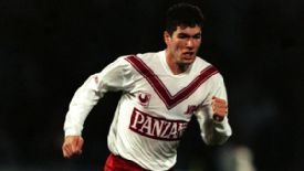 Zinedine Zidane played for Bordeaux for four years.