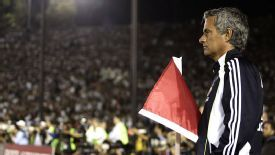 Jose Mourinho was furious with Real Madrid's performance in the friendly at LA Galaxy in 2010.