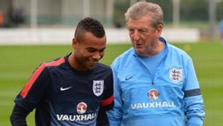 Ashley Cole's England journey is over after failing to make Roy Hodgson's squad for Brazil.