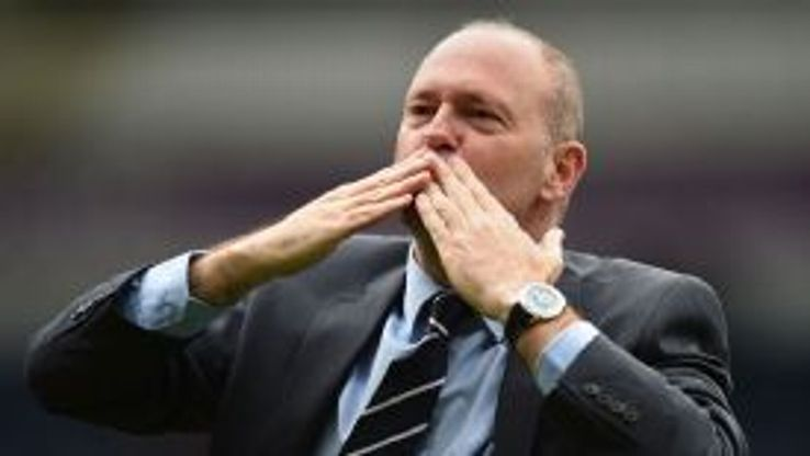 Pepe Mel gestures to the fans following Sunday's 2-1 defeat to Stoke.