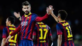 Barca's title hopes could be boosted by the returns of Pique and Neymar.