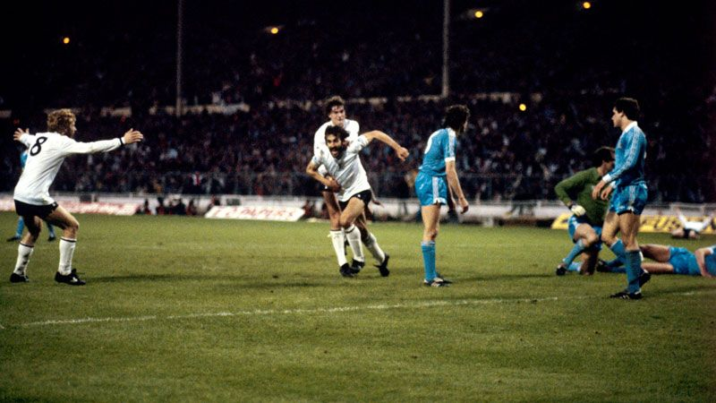 Ricky Villa scored twice for Tottenham in the 1981 FA Cup final replay.