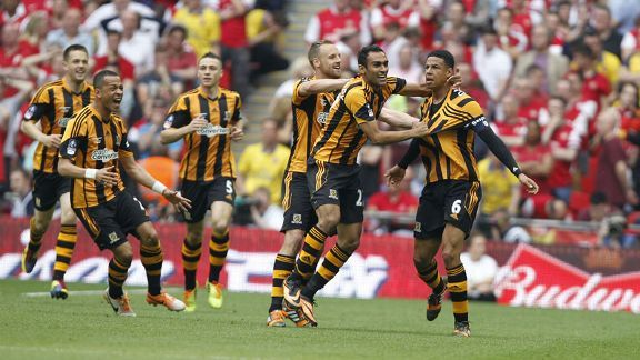 Curtis Davies helped put Hull into an early 2-0 lead. Yet history didn't repeat itself as the Gunners stormed back to win.