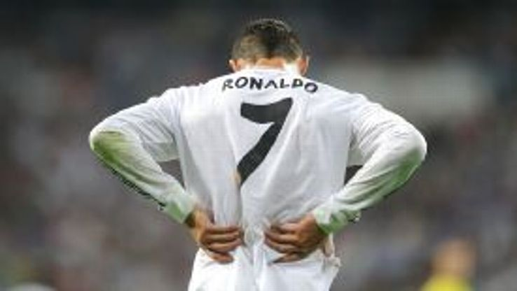 Cristiano Ronaldo is an injury doubt ahead of the Champions League final