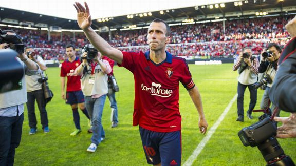 Osasuna won but it was not enough to retain their La Liga status.