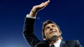 Antonio Conte took over at Juventus in 2011.