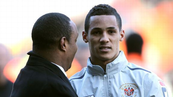 Thomas Ince's father, Paul, played for Inter in the 1990s.
