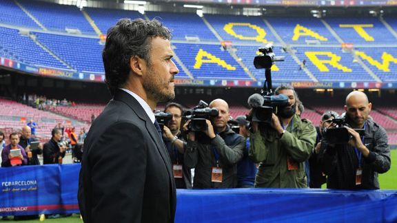 Luis Enrique is now firmly in the spotlight again as manager of Barcelona.