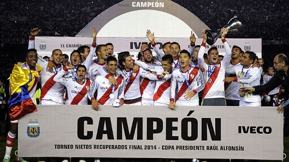 River Plate are back on top in Argentine football.
