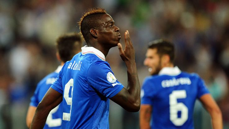 Mario Balotelli was allegedly subject to racist abuse during training.