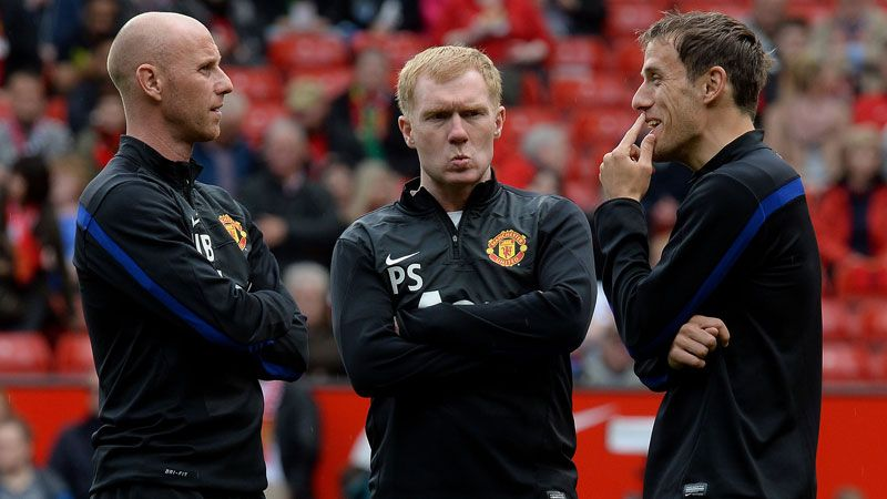 The usually reserved Paul Scholes has been vocal in his criticisms of United recently.