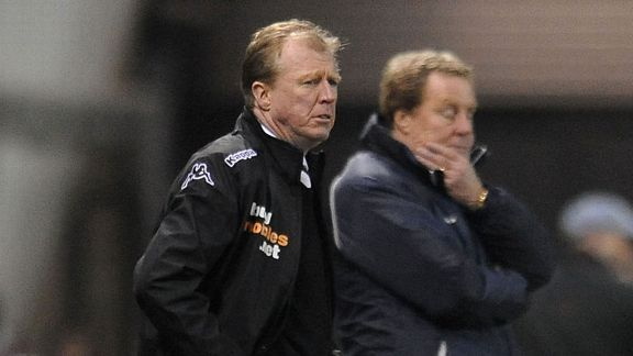 Steve McClaren and Harry Redknapp are one match away from the Premier League.