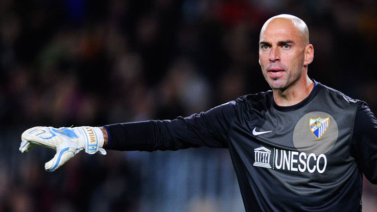 Willy Caballero has enjoyed an impressive campaign with Malaga.