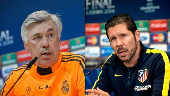 Carlo Ancelotti and Diego Simeone will fight for the biggest prize in club football.