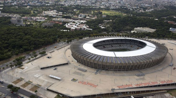Improving accessibility to the Estadio Mineirao was part of the refurbishment plans.