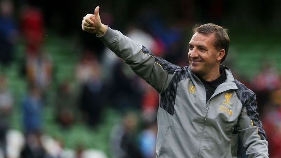 Brendan Rodgers enjoyed an impressive second campaign in charge at Liverpool.