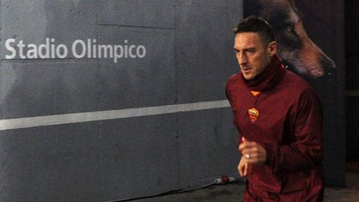 Francesco Totti hopes to play on for at least two more years.