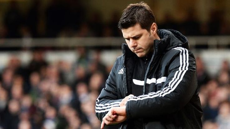 Mauricio Pochettino took over at Southampton in January 2013.