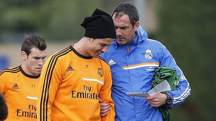 Paul Clement Real Madrid Ronaldo Bale 20140527
