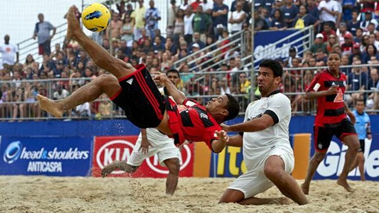From beach football on the Copacabana to giant kickabouts in the Amazon, football is a national obsession in Brazil.
