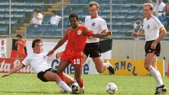 Morocco broke new ground at the 1986 World Cup and advanced out of the group stages.