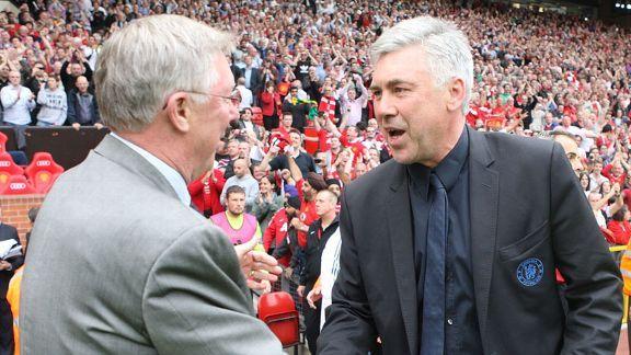 Perez: Ancelotti turned down United