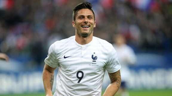 Olivier Giroud has staked a claim to be France's regular striker at the World Cup.