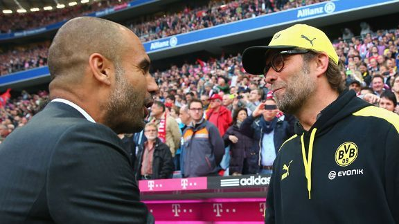 Juergen Klopp will hope to get the better of Pep Guardiola once more in the Super Cup.