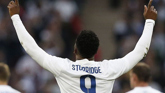 Daniel Sturridge scored for England against Peru.