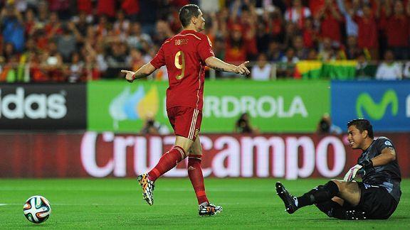 Spain control Bolivia, England hit three