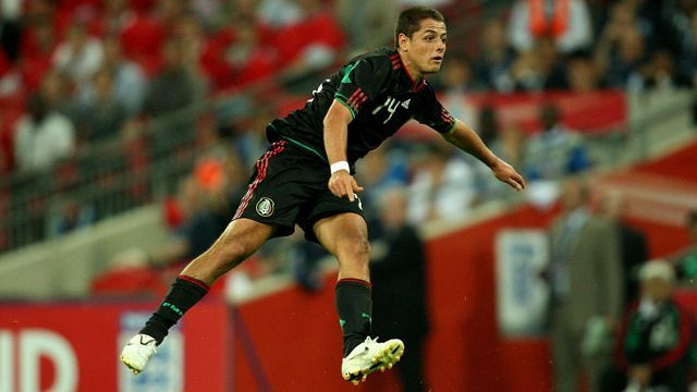 Javier Hernandez was ineffective against Israel.