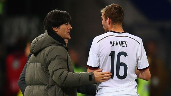 Joachim Loew may need to put his faith in Christoph Kramer in Brazil.