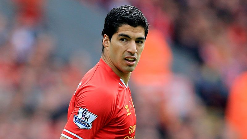 Luis Suarez committed to a new contract in December.