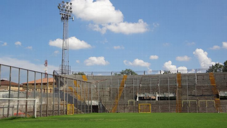 The floodlights in Padova are a sign that catenaccio was once played here.